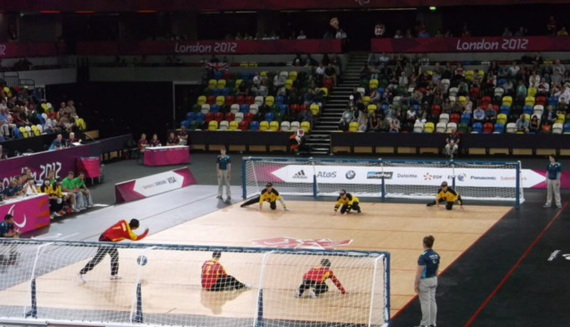 goalball paralympics