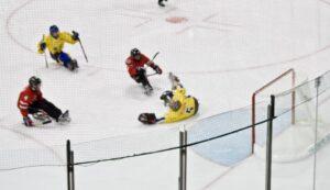handikappidrott paraishockey