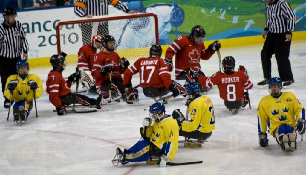 paralympics ishockey