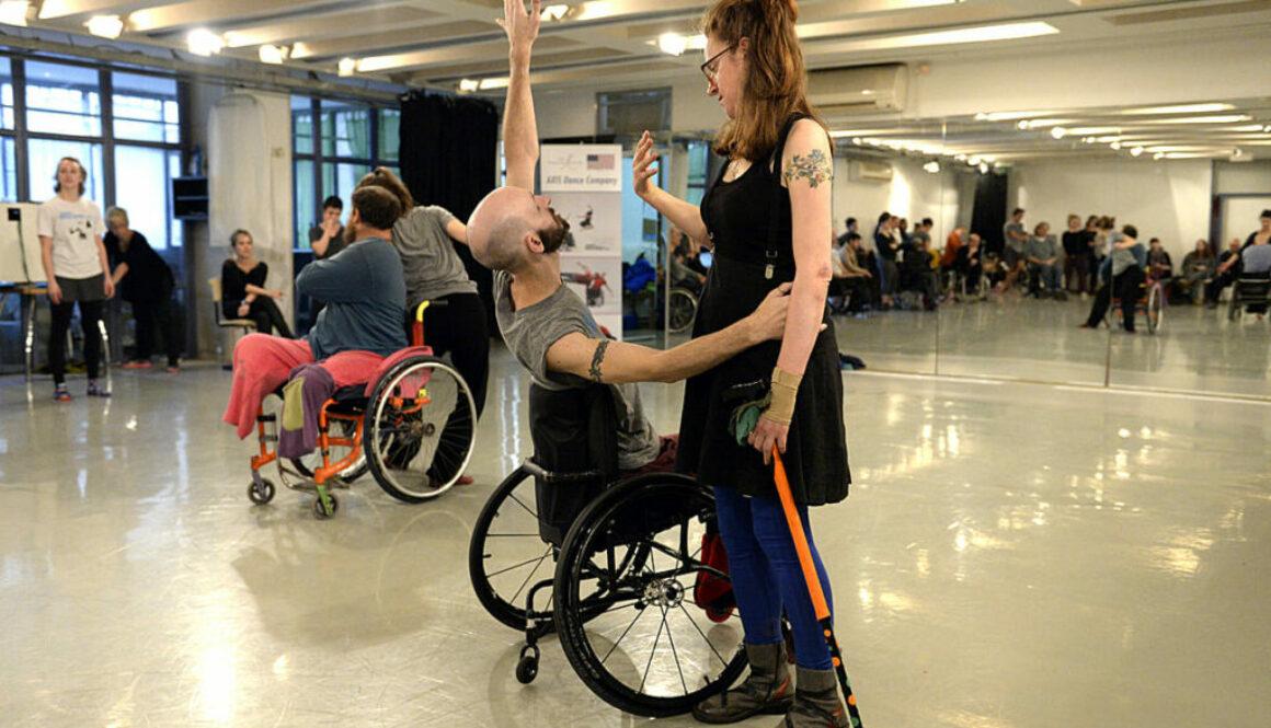 tävla i rullstolsdans